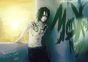 AT: Miyavi by Cygnetzzz