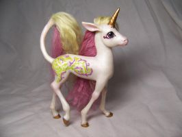 """Lady""  ooak unicorn pony by AmandaKathryn"