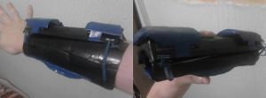 Project suitcase armor: Arm by KindiChan