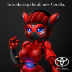 Get the all new Corolla by freelancemanga