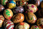 Hand Painted Easter Eggs by Kitteh-Pawz