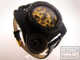 Poison I-VY steampunk victorian watch by GRIOTH by GRIOTH