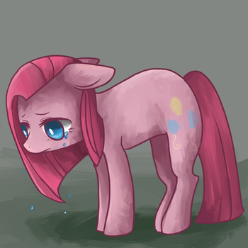 sad pinkie by matcharoll
