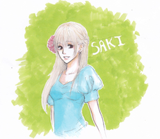 saki-chan by ninoluva