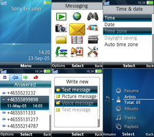 Vista theme for SE phones v2 by GorillazXD