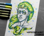 The 3 Marker Challenge~~~Orc Princess by LifeEvans