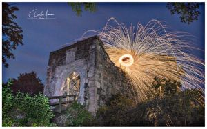 Castle of fire by PhotographyChris