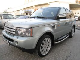Range rover sports HSE L.green by sniperbytes