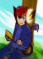 Mister Mya [kemonomimi OC] in the Zelda-TWW style by MajorasMasks