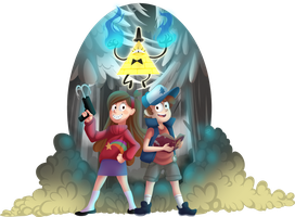 Gravity Falls by FallenInTheDark