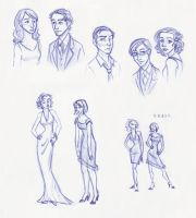 Some Characters II by kuabci