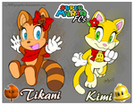 Mario FCs: ~Suit Sisters: Tikani and Kimi~ by CNWgraphis