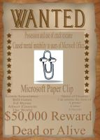 Wanted- The MS Paper Clip by alimination602
