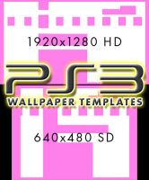 PS3 Wallpaper Templates by jmk1999