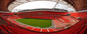 Wembley Stadium London by Nightline