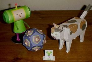 Katamari Papercrafts by BakaOhki