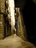 Sepia Alley by DrkHrs
