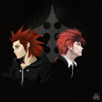 Axel X Reno by shinkita