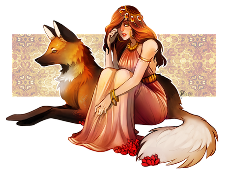 Wild Heart - Commission by clover-teapot