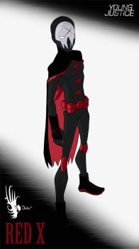 Young Justice Red X by The-Devilus