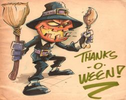 Thanks O Ween by jusscope