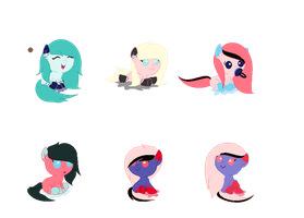 Cotton Candy Inky Breeding Adopts - CLOSED by SweetKorruption