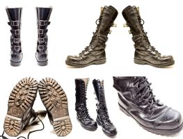 MORE BOOTS by nomoniker