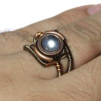 Steampunk Labradorite Ring 3 by CatherinetteRings