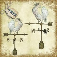 Weather vane by Just-A-Little-Knotty
