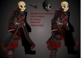 Harbinger Naval Commander ( Transformable ) by XionicDXelt
