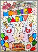 Monster party by ateljEE