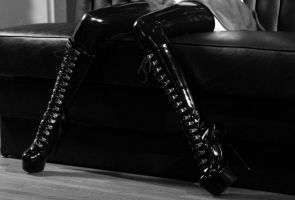 For all you latex and boot lovers! by Tristin-Vitriol
