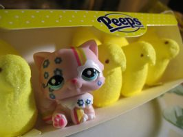Just Another Peep by Dellessanna
