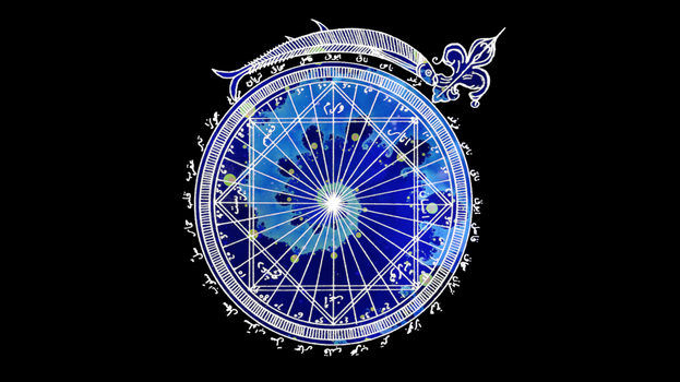The Astrological Bahamut by saintabyssal