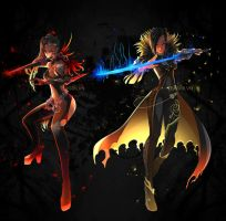 Commission 37: Blade And Soul by teagirl-vn