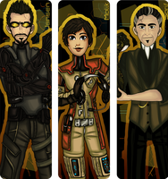 Bookmark Commission: Deus Ex:HR by TheDutchesse