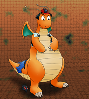 ash tf into dragonite by TheDarkShadow1990