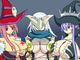 3 witches by Soap9000