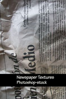 Newspaper Textures by photoshop-stock