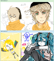 Iscribble Doodles With Sera by Natsuki12