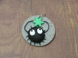Soot Sprite Pendant by MEWtube3000