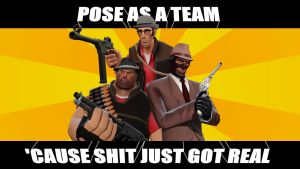 Posing as a team by Masterlegodude