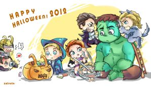 Happy Halloween 2012~ by Zeiruin