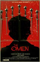 The Omen poster by markwelser