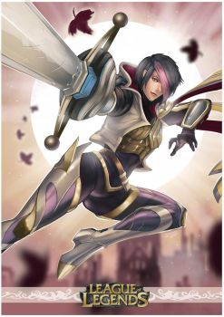 League of Legends : Fiora by n3tninja