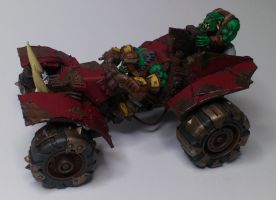 Orc Buggy - side painted by SoM-Monk