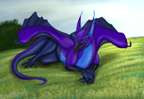 Resting on the grass by gryphon1
