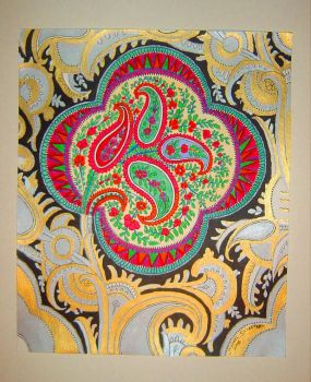 Cosmic Paisley by msilvestre