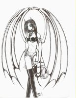 Old Art-Succubus by moonraven373