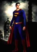 Smallville Season 11 Superman Suit by kyomusha